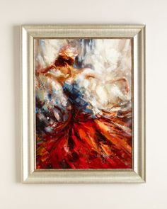 """Dance in Red"" Giclee at Neiman Marcus."