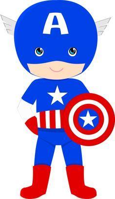 caixinhas capitão america para imprimir - Pesquisa Google