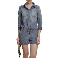 Macaquinho Jeans Manga. #jeanswear #fashion #streetstyle