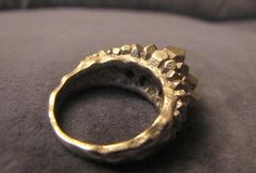 Crystal Ring size 12 by Eeppium on Shapeways, the 3D printing marketplace