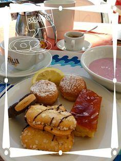 Una fantastica colazione...