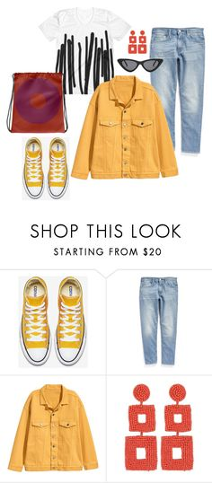 """""""Happy spring set"""" by pilatesgift ❤ liked on Polyvore featuring Levi's, Kenneth Jay Lane, Retro Sun, colorful, Tshirt, womenstyle and athleisure"""