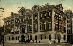 Court House  Details:  State:  New York (NY)  City:  Poughkeepsie  Publisher:  Valentine & Sons Publishing Co.  Type:  Divided Back  Postmark/Cancel:  1909 May-24  Poughkeepsie, NY