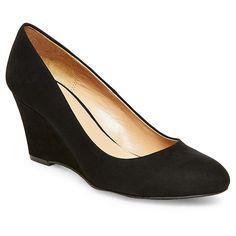 Women's Ellen Wedge Pumps - Merona, Size: