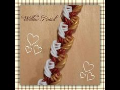 """New """"Willow Braid"""" Hook Only Rainbow Loom Bracelet/How To Tutorial"""