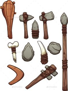 Prehistoric Weapons