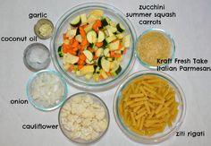 Summer Vegetable Pasta Salad with Kraft Fresh Take - Simple Sojourns