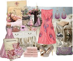 """""""Carte Postale - Challenge # 37"""" by gypsymanatee on Polyvore"""