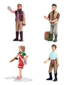 People of the Farm Figurine Set by Schleich #zulily #zulilyfinds