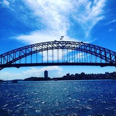 The famous Sydney Harbour Bridge aka the 'Coathanger'  #view #bridge #harbourbridge #sydneyharbour #sydneyharbourbridge #heart #sydney #australia #great #time #love #sun #happy #instagood #fun #amazing #smile #photooftheday #instalike #pretty #beauty #cabincrewlife #world #tour #tourdumonde by deeelightfuldeee http://ift.tt/1NRMbNv