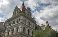 Haunted Places In Upstate NY   New York Haunted Capitol Building, Albany- HauntedHouses.com