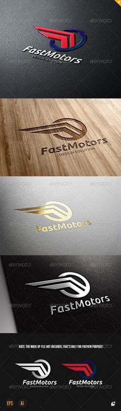 Fast Motors Logo #GraphicRiver Fast Motors – Logo Template This logo design for creative company. Logo Template Features AI and EPS 300PPI CMYK 100% Scalable Vector Files Easy to edit color / text Ready to print Used Free Font (Link Included Main Download) If you buy and like this logo, please remember to rate it. Thanks! Created: 3February13 GraphicsFilesIncluded: VectorEPS #AIIllustrator Layered: No MinimumAdobeCSVersion: CS4 Resolution: 700x2300 Tags: active #application #audio #auto…