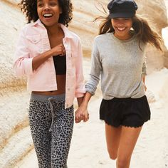 An irresistibly soft cropped crew is a girl's best friend. Women's Clothes, Clothes For Women, Hollister Girls, Spring Fever, Girls Best Friend, Hoodies, Sweatshirts, Panama Hat, Perfect Fit