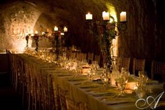 Obviously this won't be my wedding. But if I could create my dream reception, it would most likely look something like this.