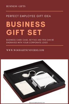 Upto 65% off A business card case , keytag and pen can be engraved with your corporate logo (additional charge) or with your employee's name. This gift set also includes a memo pad  #freeshipping  http://woodartsuniverse.com/catalog/product_info.php?cPath=46&products_id=300