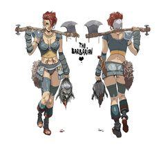 ArtStation - Character Design , Hicham Habchi