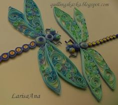 She does the most beautiful dragonflies and butterflies!
