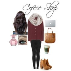 Coffee shop outfit (going out on a fall day)