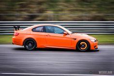 Orange on black, nurburg