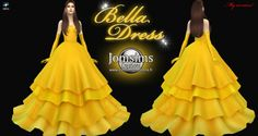 Bella dress at Jomsims Creations • Sims 4 Updates