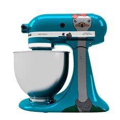 Emu print Stand Mixer KitchenAid. Stand Mixer KitchenAid com estampa de Ema.
