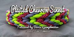 Plaited Chevron Sinnet   Swiss Paracord