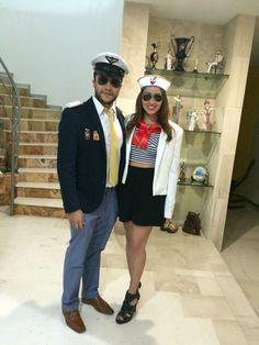 #disfraz #costume #novios #halloween #fiestadedisfraz #marinera #marinero…