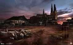 Really scary images of a post-apocalyptic Sweden. Here, my hometown of Uppsala. Kusliga bilder visar ett post-apokalyptiskt Sverige. Här min hemstad Uppsala.