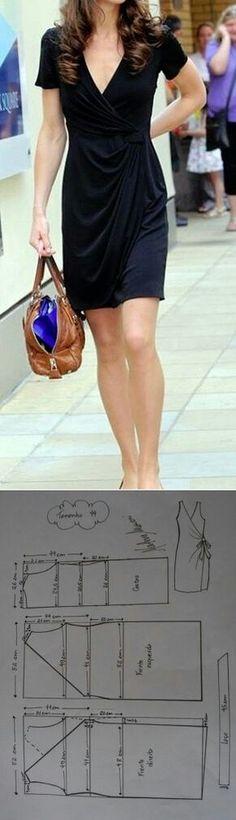 Black midi skirt...