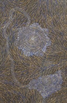 Here is another fine piece of Australian Aboriginal Art by Sarrita King / Ancestors is the title of the work. Click on the artwork to view more images and information on this piece and over 1000 other paintings from many of the best Aboriginal artists from Australia. Thanks