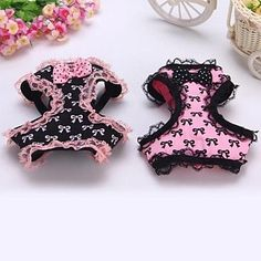 Princess Bowknot with Lace Harness with Leash for Pet Dogs(Assorted Colors,Assorted Sizes) – USD $ 17.29