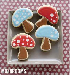 Mushroom cookies! #yum