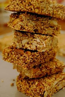 Mostly about food: Sesame Seed Bar