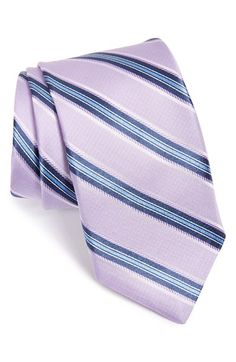 Men's Michael Kors Stripe Silk Tie