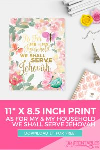 We shall serve jehovah print_pin