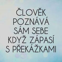 @makroklid #makroklid #citaty #rady #zivot #budoucnost #motivace #boj #prekazky #postup #poznani Nov, Never Give Up, Motto, Humor, Quotes, Quotations, Humour, Funny Photos, Funny Humor