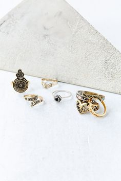 Collective Ring Set @Urban Outfitters and ($20)