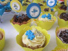 Toppers Para Cupcakes Smurfs  Gift Scrap 2E6203 Elo7 cakepins.com