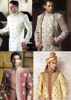 Reception Dresses For Indian Groom Uniixe