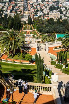 Baha'i Temple in Haifa - aswesawit