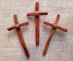 3 cinnamon stick crosses by squirrelspur on etsy 600 christmas crafts to sell cinnamon