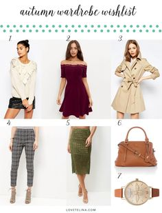 Autumn is here! Check out some of my favourite autumn picks from the highstreet.