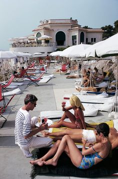 The Hotel du Cap-Eden-Roc, Antibes, France (1969, Slim Aarons)