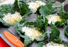 Kale Eggs Cheese