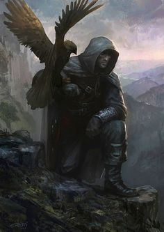 Falconer by ~Cristi-B on deviantART