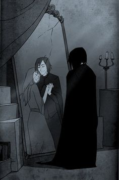 Harry potter, snape, and severus snape image Harry Potter World, Harry Potter Cartoon, Harry Potter Comics, Harry Potter Severus Snape, Severus Rogue, Mundo Harry Potter, Harry Potter Artwork, Harry Potter Drawings, Harry Potter Pictures