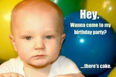 My son's funny birthday invitation!