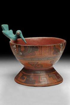 Coupe mixtèque, Museo nacional de antropologia de Mexico Mayan History, Aztec Tattoo Designs, Art Premier, Native American Pottery, Ancient Artifacts, Ancient Civilizations, Prehistoric, American Art, Archaeology