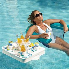 Floating pool tray!