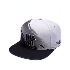 5 strike bleacher snapback cap by UNDFTD ( 40) ❤ liked on Polyvore  featuring accessories 6eeccac7d7e